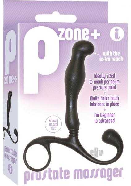 P Zone Plus Prostate Massager Black