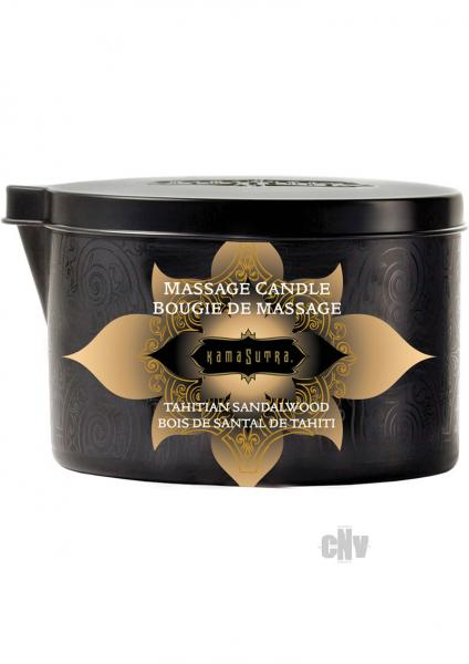 Kama Sutra Massage Candle Tahitian Sandalwood
