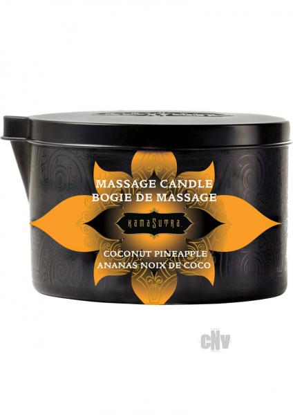 Kama Sutra Massage Candle Coconut Pineapple