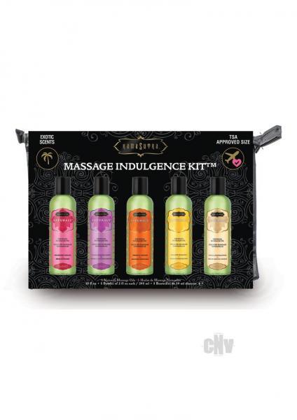 Kama Sutra Naturals Massage Indulgence Kit