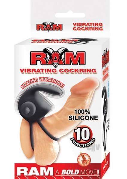 Ram Vibrating Cock Ring Black