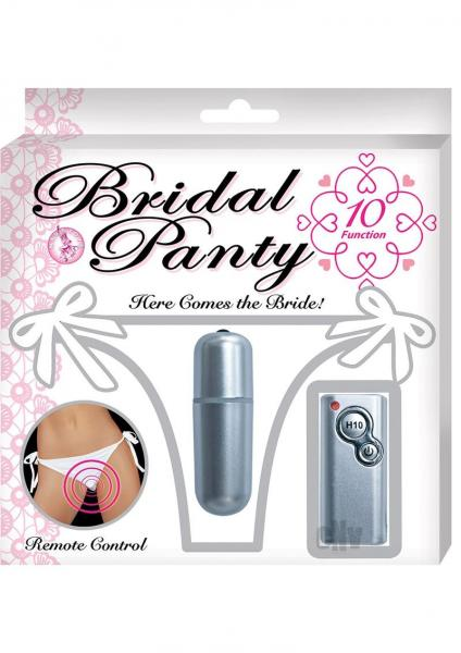 Bridal Panty White Vibrating Panties O/S