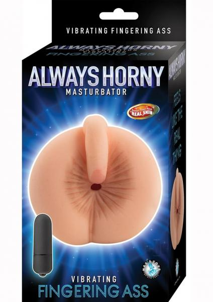 Always Horny Masturbator Finger Ass Beige
