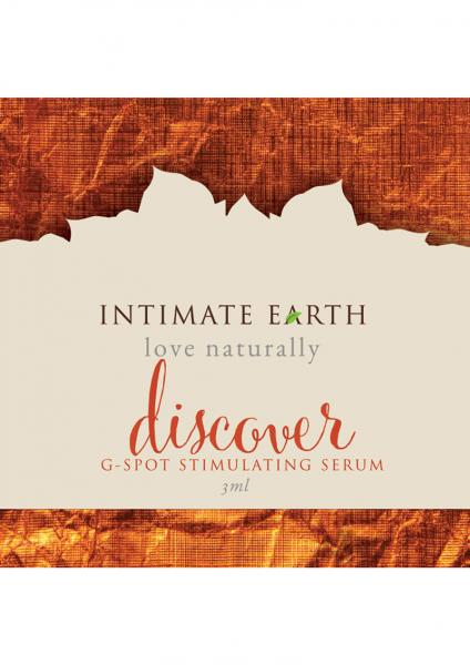 Intimate Earth Discover G-Spot Gel .10oz Foil Loose