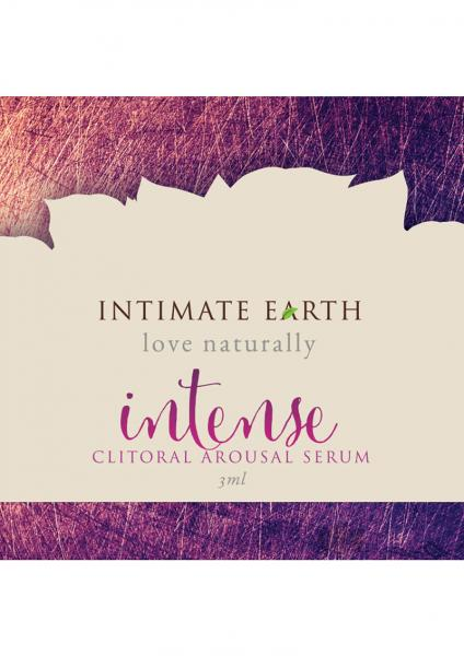 Intimate Earth Intense Clitoral Pleasure .1oz Foil