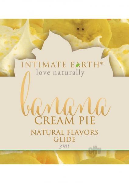 Intimate Earth Banana Cream Pie Glide Foil Pack .1oz