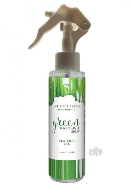 Intimate Earth Green Tea Tree Toy Cleaner Spray 4.2oz