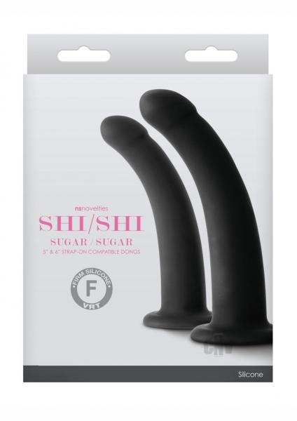 Shi/Shi Sugar/Sugar Black Dongs 5 inches & 6 inches