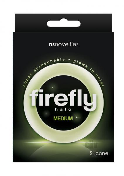 Firefly Halo Medium Cock Ring Clear