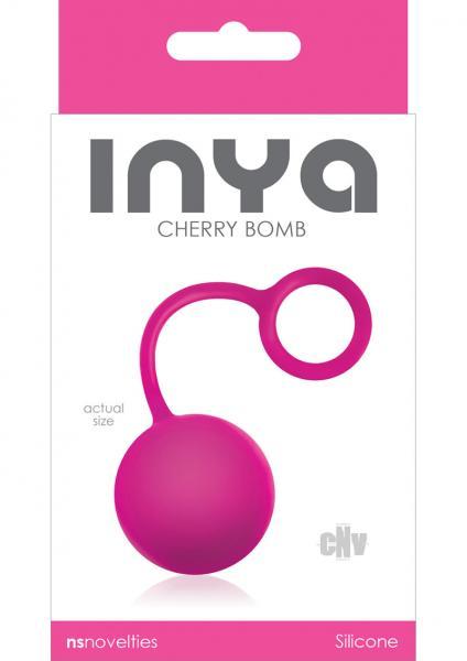 Inya Cherry Bomb Pink Ben Wa Ball