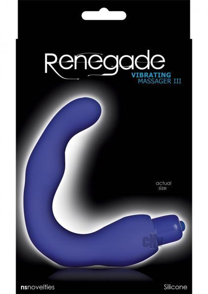 Renegade Vibrating Massager 3 Blue