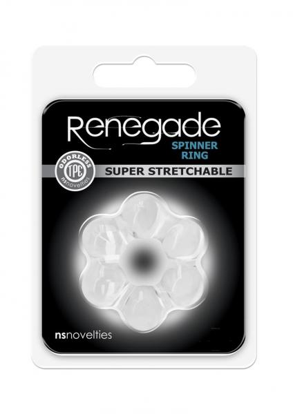 Renegade Spinner Ring Clear