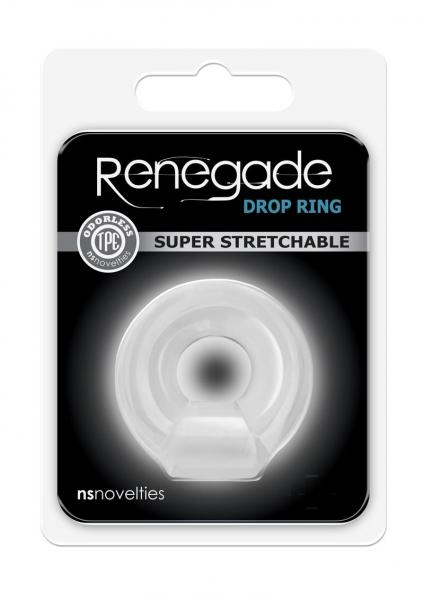 Renegade Drop Ring Clear