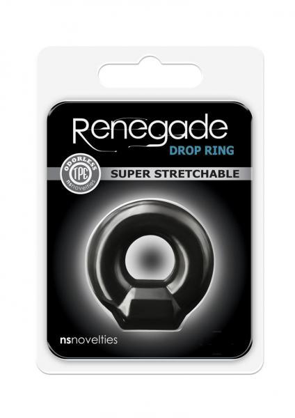 Renegade Drop Ring Black