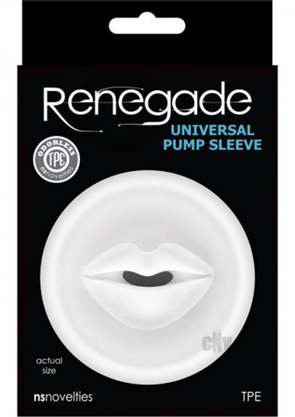 Renegade Universal Pump Mouth Sleeve Clear
