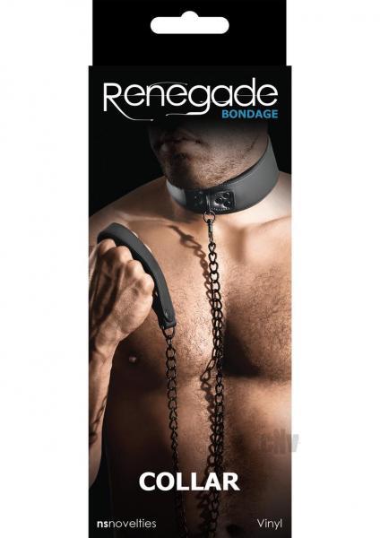 Renegade Bondage Collar Black O/S