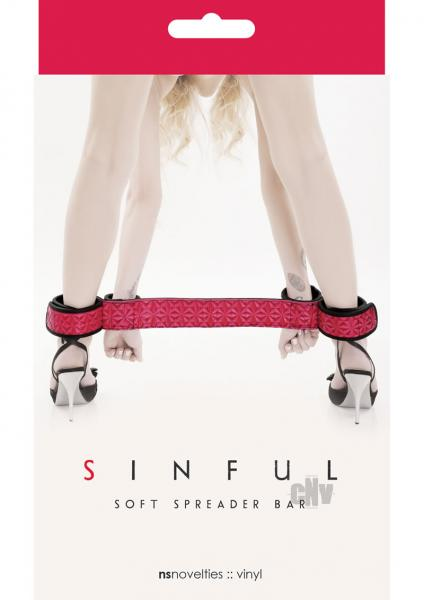Sinful Soft Spreader Bar Pink