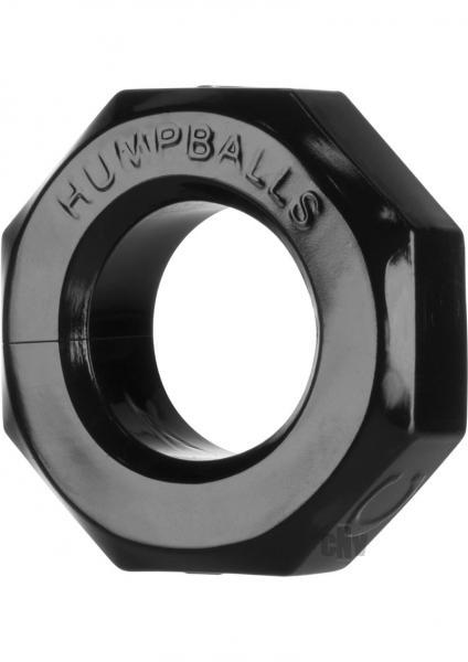 Hump Balls Cock Ring Black