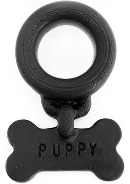 Puppy Cockring Black