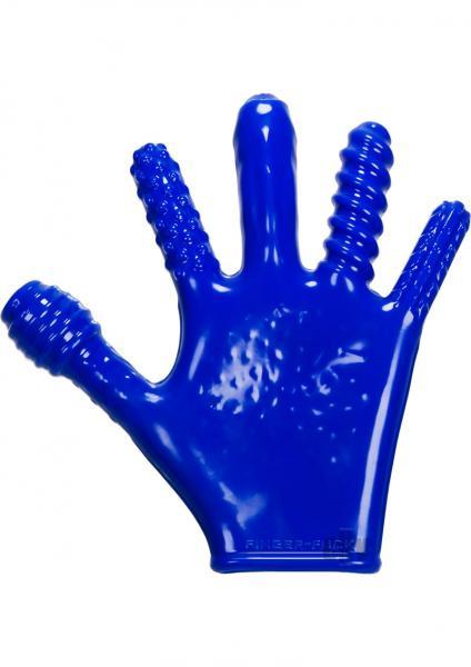 Finger F*ck Glove Police Blue