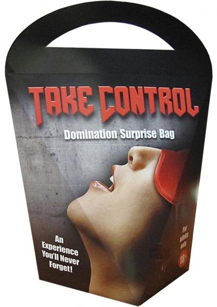 Take Control Domination Surprise Gift Bag