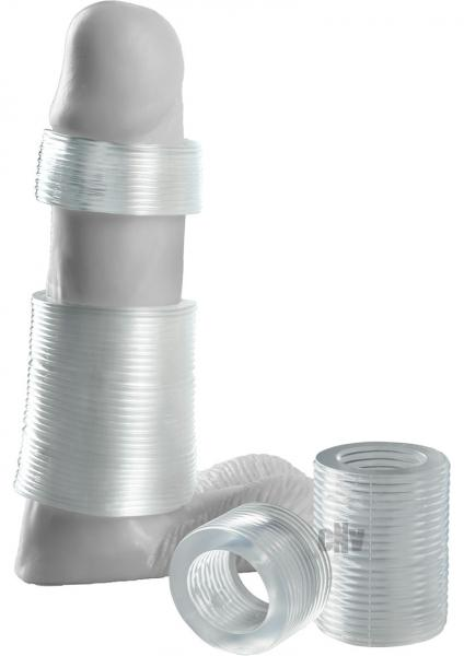 Girth Gainer System 4 Pieces Clear