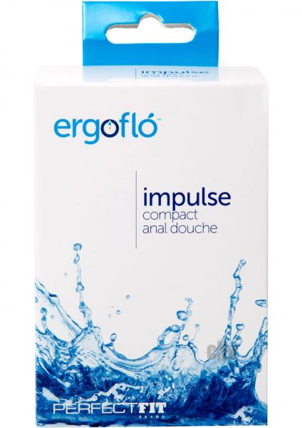 Ergoflo Impulse Black Anal Douche