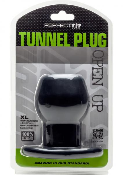 Tunnel Plug X-Large Black
