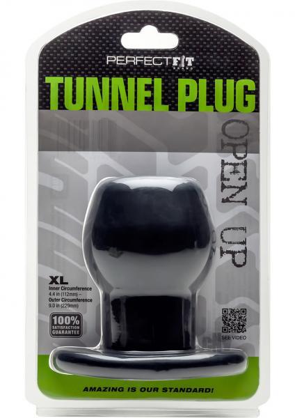 Tunnel Plug X-Large Black