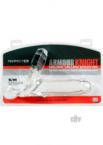 Armour Knight Strap On Waistband S/M Clear