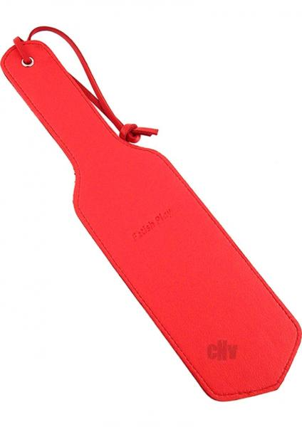 Fetish Play Paddle Red