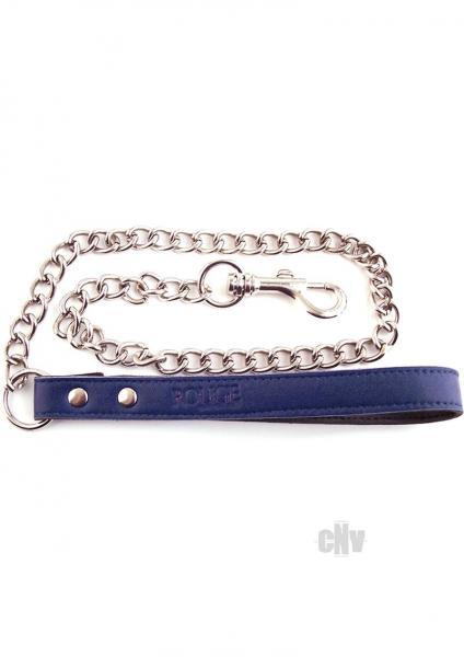 Rouge Chain Lead Blue Leash