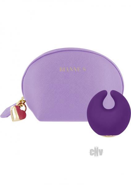 Rianne S Moon Deep Purple Clitoral Massager
