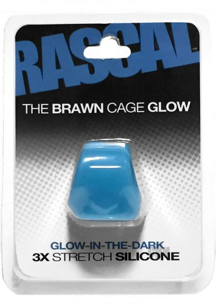 Rascal The Brawn Cage Glow Blue