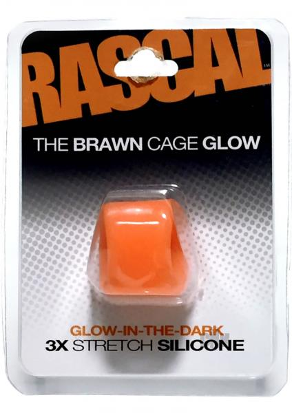 Rascal The Brawn Cage Glow Orange