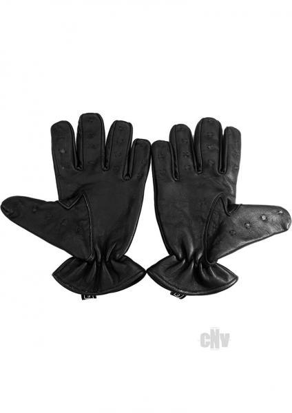 Rouge Vampire Gloves Black Large