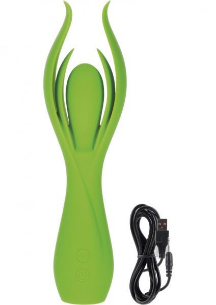 Lust L7 Green Petal Massager