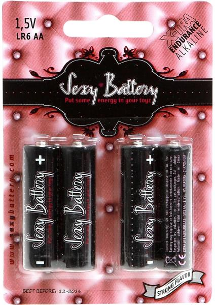 Sexy Battery AA/LR6 4 Pack