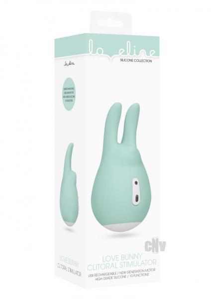 Loveline Clit Stim Love Bunny Green