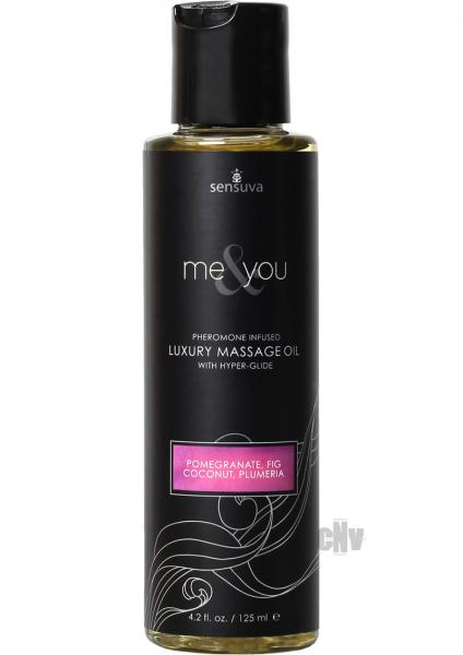 Me And You Massage Oil Pomegranate Fig Coconut 4.2oz