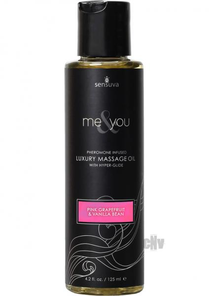 Me And You Massage Oil Grapefruit Vanilla 4.2oz