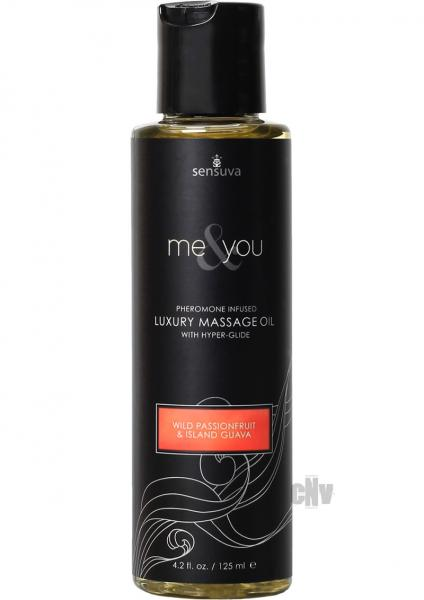 Me And You Massage Oil Passion Guava 4.2oz