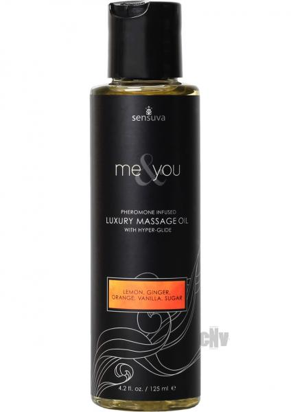 Me And You Massage Oil Sugar And Citrus 4.2oz