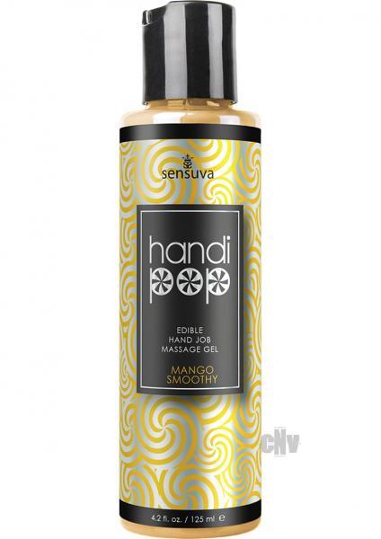 Handipop Hand Job Massage Gel Mango Smoothie 4.2oz