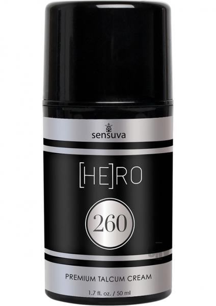 Hero 260 Talcum Cream For Men 1.7oz