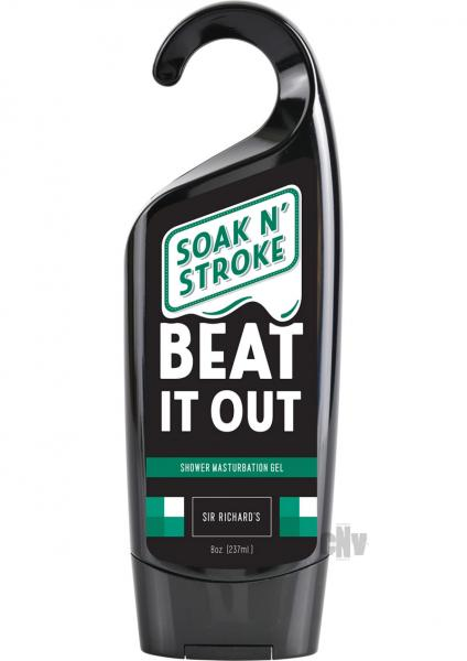 Sir Richard's Soak N Stroke Beat It Out Shower Masturbation Gel 8oz