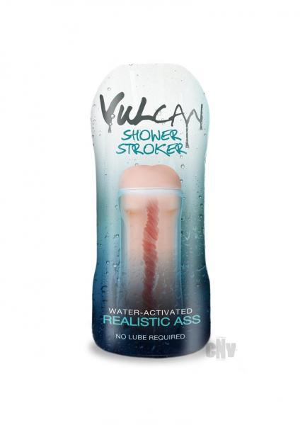 Cyberskin H2O Vulcan Ass Shower Stroker Realistic Beige