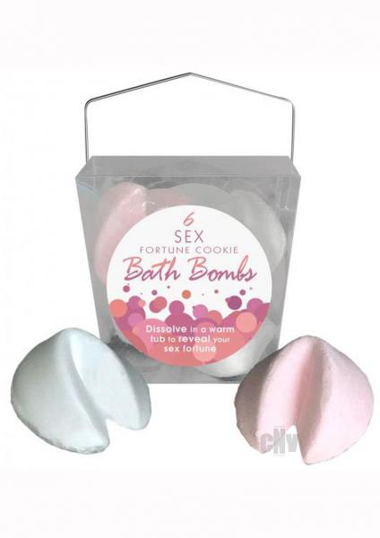 6 Sex Fortune Cookie Bath Bombs