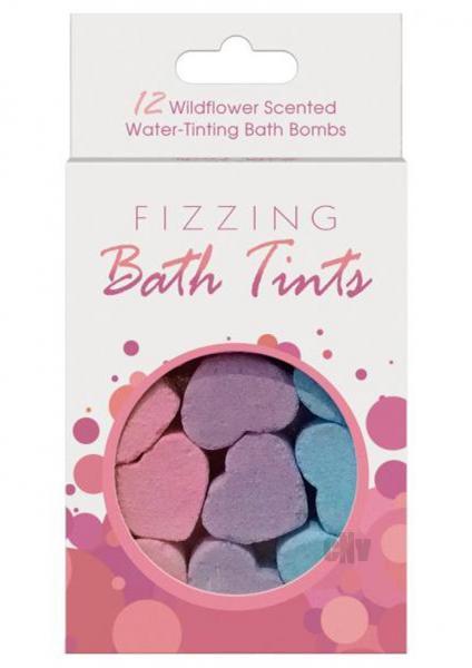 Fizzing Bath Tints 12 Bath Bombs
