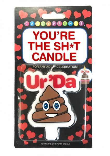 You're The Sh*t Party Candle Ur Da Poop